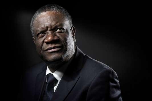 FRANCE-CONGO-MUKWEGE-HUMAN-RIGHTS